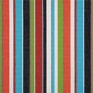 Carousel Confetti Red 7774-0000 Stripe Outdoor Fabric by Sunbrella