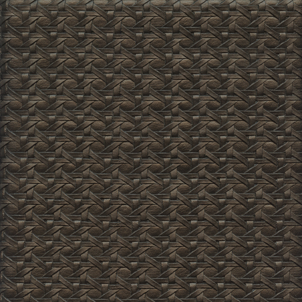 Barbados Luxury Brown Woven Vinyl Upholstery Fabric