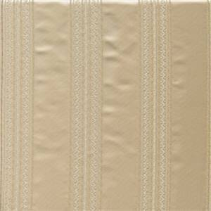 Laurier Ivory Faux Silk Stripe Drapery Fabric
