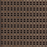 Choices Squares Graphite Brown Square Dot Upholstery Fabric