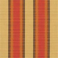 Dimone Flame Orange 8021-0000 Textured Stripe Outdoor Fabric by Sunbrella