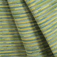 Sari Surprise Oasis Blue Green Stripe Upholstery Fabric by P Kaufmann