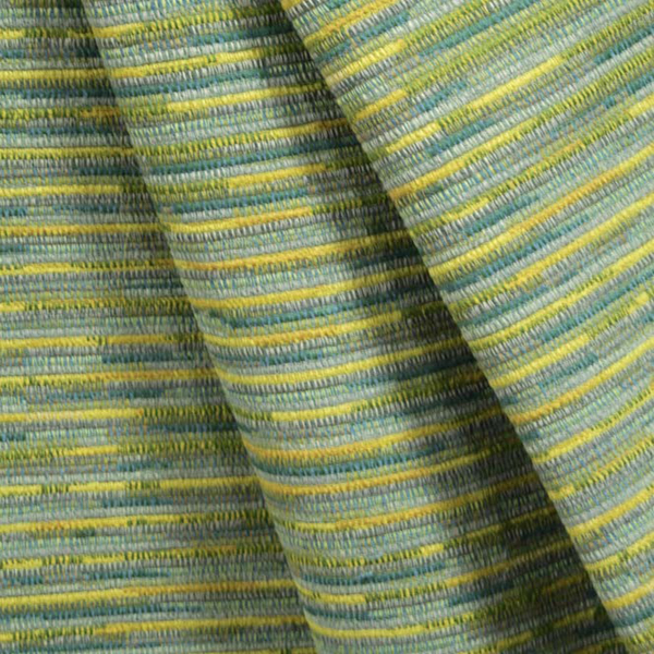 Sari Surprise Oasis Blue Green Stripe Upholstery Fabric By P