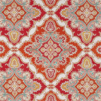 ODL Zoie Tangerine Orange Indoor Outdoor Fabric by P Kaufmann