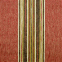 Rupert Stripe Red Pepper Vertical Herringbone Stripe Upholstery Fabric by P Kaufmann