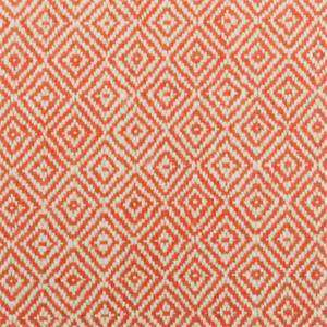 Crafty Poppy Red Geometric Diamond Upholstery Fabric Swatch