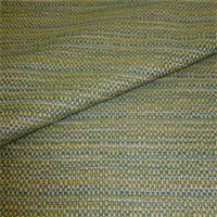 Brisbane Aquamarine Green Tweed Look Upholstery Fabric Swatch