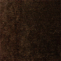 Chenille Solid Brown Upholstery Fabric