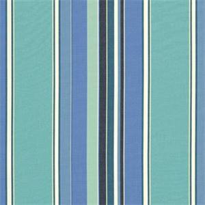 Dolce Oasis Blue 56001-0000 Stripe Outdoor Fabric by Sunbrella