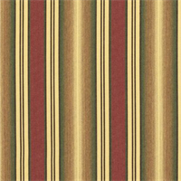 Weston Ginger Brown 56005-0000 Stripe Outdoor Fabric by Sunbrella