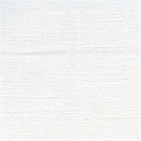 Chenille Solid White Upholstery Fabric Swatch