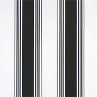Accord Black Stripe Drapery Fabric by Premier Prints
