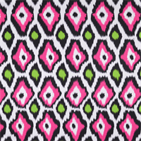 Adrian Candy Pink/Chartreuse Green Drapery Fabric by Premier Prints 30 Yard Bolt