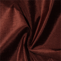 Intrigue 30A Mahogany Brown Velvet Upholstery Fabric