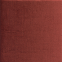 Intrigue 26 Copper Orange Velvet Upholstery Fabric Swatch
