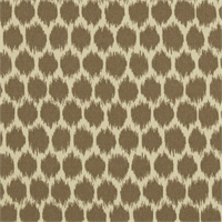 Seeing Spots Sterling Grey Ikat Spot Indoor Outdoor Fabric