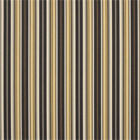 Foster Classic Black 56050-0000 Stripe Outdoor Fabric by Sunbrella