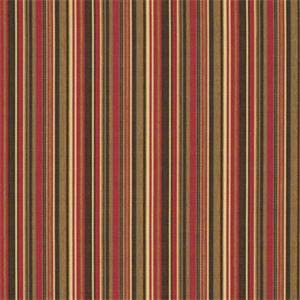 Dorsett Cherry Red 56059-0000 Stripe Outdoor Fabric by Sunbrella