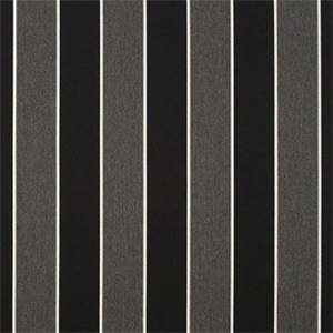 Peyton Granite Grey 56075-0000 Stripe Outdoor Fabric by Sunbrella