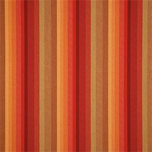 Astoria Sunset Red 56095-0000 Stripe Outdoor Fabric by Sunbrella