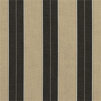 Berenson Tuxedo Black 8521-0000 Stripe Outdoor Fabric by Sunbrella