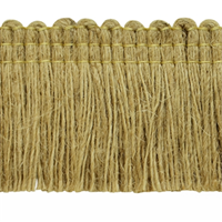 IR4311 Natural Jute Brush Fringe 20 Yard Bolt
