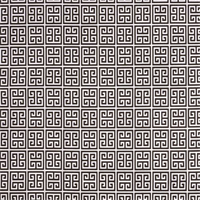 Towers Bay Brown Greek Key Design Indoor Outdoor Fabric by Premier Prints