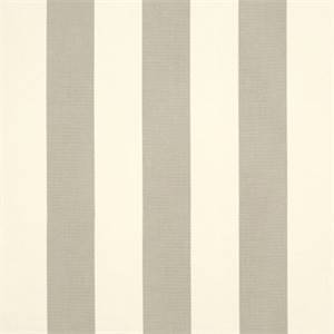 Solana Seagull Grey 32008-0000 Stripe Outdoor Fabric by Sunbrella