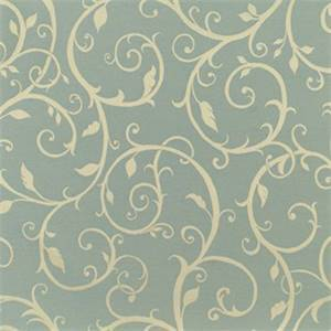 Cabaret Blue Haze 45099-0003 Floral Outdoor Fabric by Sunbrella
