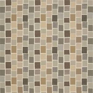 Blox Slate Grey 45542-0000 Tiled Check Outdoor Fabric by Sunbrella