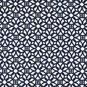 Luxe Indigo Blue 45690-0000 Contemporary Outdoor Fabric by Sunbrella