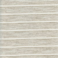Marin Sheer Beige 03 Linen Stripe Extra Wide Drapery Fabric Swatch