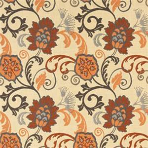 Elegance Marble Grey 45746-0001 Floral Outdoor Fabric by Sunbrella