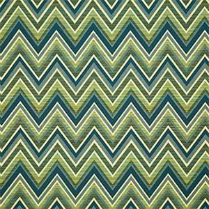 Blue Chevron Fabric Sunbrella Fabric For Sale