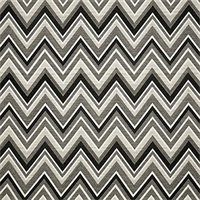 Fischer Graphite Grey 45885-0004 Chevron Outdoor Fabric by Sunbrella