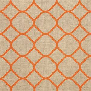Accord Koi Orange 45922-0001 Contemporary Outdoor Fabric by Sunbrella