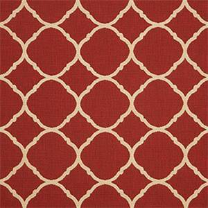 Accord II Crimson Red 45936-0000 Contemporary Outdoor Fabric by Sunbrella