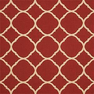 Accord II Crimson Red 45936-0000 Contemporary Outdoor Fabric by Sunbrella