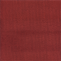 M9482 Cardinal Red Vertical Ribbed Chenille Upholstery Fabric by Barrow Merrimac Swatch