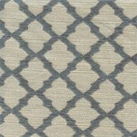 Midway Aqua Pearl Beige Blue Geometric Upholstery Fabric