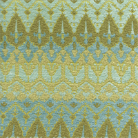 Ila Citrus Green Chenille Upholstery Fabric by P Kaufmann Swatch