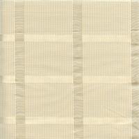 Bristow Parchment Mini Check Drapery Fabric