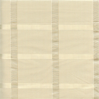 Bristow Parchment Mini Check Drapery Fabric Swatch