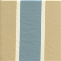 Andover Robins Egg Blue Stripe Drapery Fabric Swatch