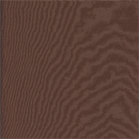 Sold for Silke Rust Brown Faux Silk Drapery Fabric Swatch