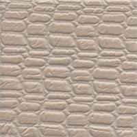 Moc Croc Beige Matelasse Upholstery Fabric Swatch