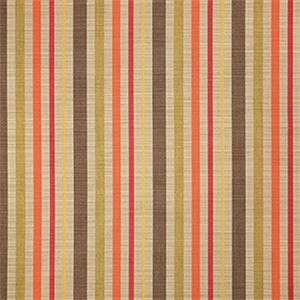 Solano Fiesta Orange 56098-0000 Stripe Outdoor Fabric by Sunbrella