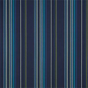 Stanton Lagoon Blue 58001-0000 Stripe Outdoor Fabric by Sunbrella