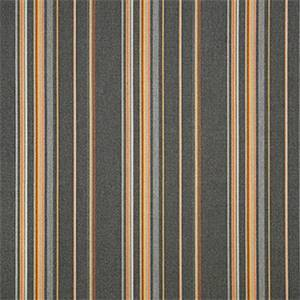 Stanton Greystone Grey 58002-0000 Stripe Outdoor Fabric by Sunbrella