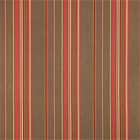 Stanton Brownstone Brown 58003-0000 Stripe Outdoor Fabric by Sunbrella